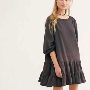 -In Stored Now- Free People Sunny Side Mini Dress